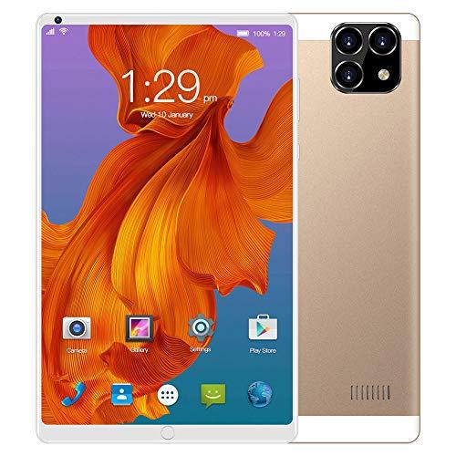 ELLENS Tablet 8 Pollici Android 6.0, Phablet Sbloccato 3G con Doppio Slot per schede SIM e Fotocamere, Tablet PC con WiFi, GPS, Bluetooth