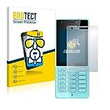 BROTECT Panzerglas Schutzfolie kompatibel mit Nokia 216-9H Extrem Kratzfest, Anti-Fingerprint, Ultra-Transparent