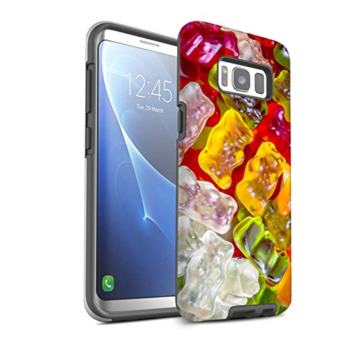 Stuff4® glanzende harde schokbestendige hoes/case voor Samsung Galaxy S8/G950 / gummibeer patroon/zoetwaren collectie