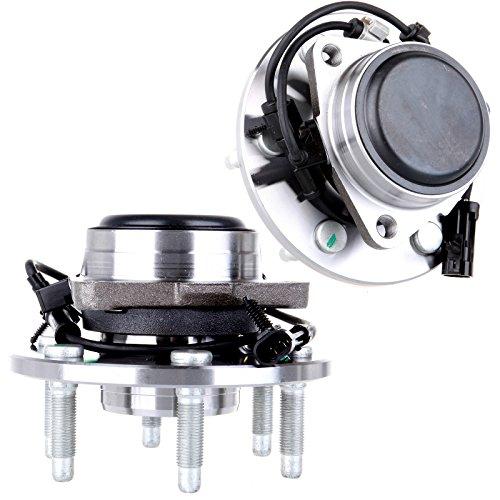 Price comparison product image OCPTY (2) New Front Wheel Hub Bearing Fit for Cadillac Escalade,  Chevy Express Silverado 1500 HD Express 1500 Tahoe,  GMC Yukon Sierra 1500 Savana 1500 2WD 6 Lug 515054 X 2
