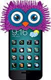 FoneFace AUNT PORIE Owl Phone Topper - Skin - Retail Packaging - Lavender