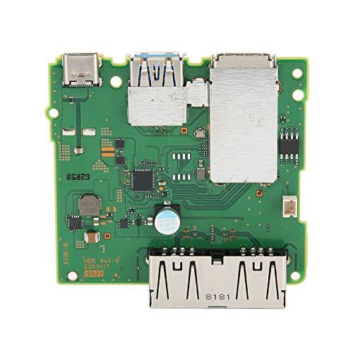 Bigking Placa de Carga HDMI, Placa de Carga HDMI, Placa de Circuito de Placa Base de estación de Acoplamiento, reemplazo para Interruptor de Nintendo