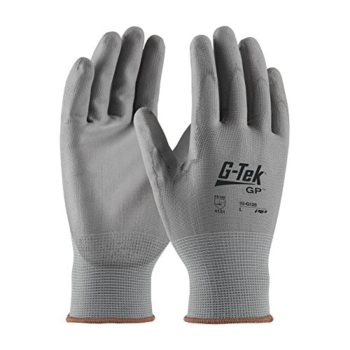 PIP Protective Industrial Products 33-G125-XL PIP 33-G125-XL Gray Nylon Gloves, XL, Gray (Pack of 12)