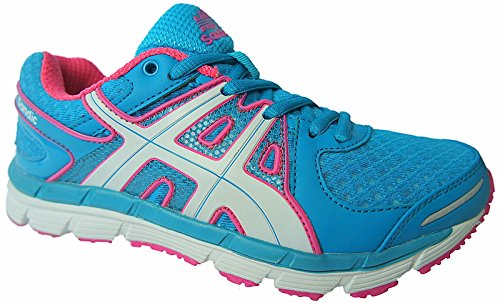 Sandic Damen Laufschuhe Turnschuhe Sportschuhe Sneaker gr.36-41 nr.1612 blau-Fuchsia (38)