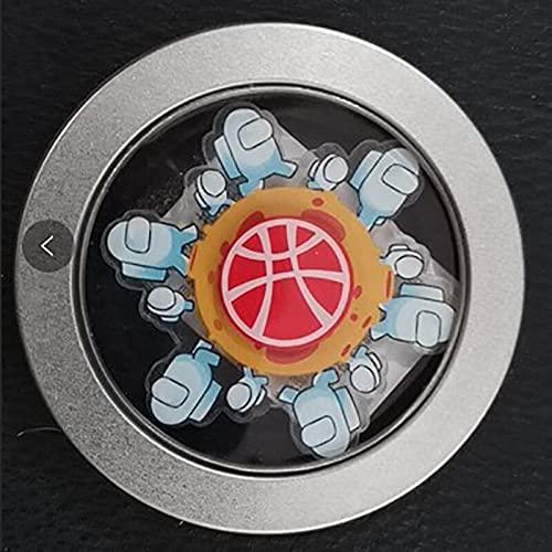 DAKUHO Run Animated Fidget Spinner - 2021 New Trend Running Fidget Hand Spinner Relief Stress Toy for Kids R188 Bearing Mute Kids Fingertip Gyro Alloy Metal Gifts - Animated Fidget Spinner (9)