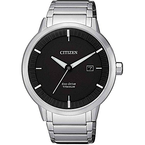 Orologio Citizen eco drive Modern design Super titanium BM7420-82E