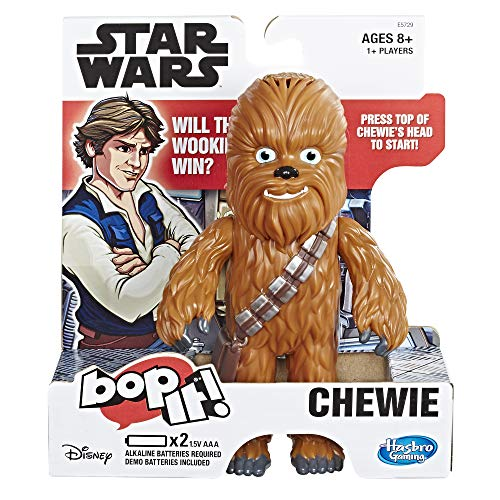 Hasbro Gaming Bop It! Electronic Game Star Wars Chewie Edition Now $11.24