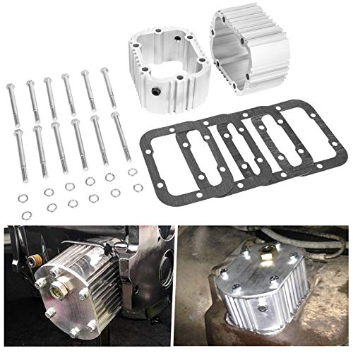 Transmission Pto Fast Cooler Manual Trans Aluminum, Compatible with GM Dodge NV4500 NV5600 G56 Ford ZF5 ZF6