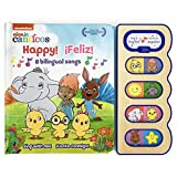 Happy!/¡feliz!: 8 Bilingual Songs (Nick Jr. Canticos) (English and Spanish Edition) (Nick Jr Canticos 8-Button Early Bird Switch Sound Books) (Canticos Bilingual Sound Books)