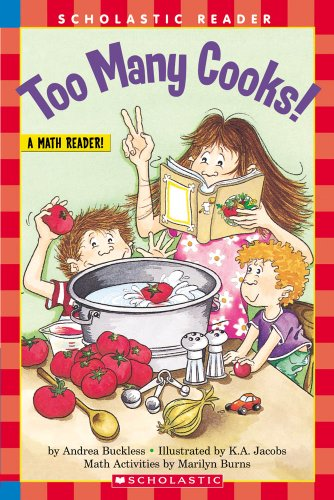 Too Many Cooks (level 3) (Hello Reader, Math)