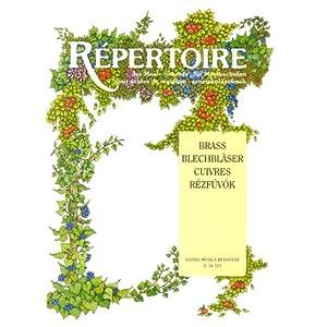 Repertoire Brass Instruments Fuer Musikschulen. Posaune, Bariton, Tuba, Tenorhorn, Klavier