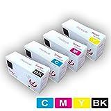 PACK 4 x TK-8305 CARTUCHOS DE TONER LÁSER MULTICOLOR KYOCERA NO ORIGINAL (15000 copias), COMPATIBLES CON KYOCERA TASKALFA 3050CI 3051CI 3501I