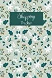 Shopping Tracker: Keep track of your online purchases,shopping  expense tracker personal log Book