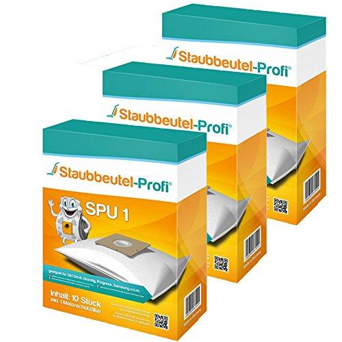 30 Staubsaugerbeutel SPU1 von Staubbeutel-Profi® kompatibel zu Swirl Y101, Swirl DD9, Swirl Y191, Swirl Y201, Swirl Y50, Swirl Y93, Swirl Y95