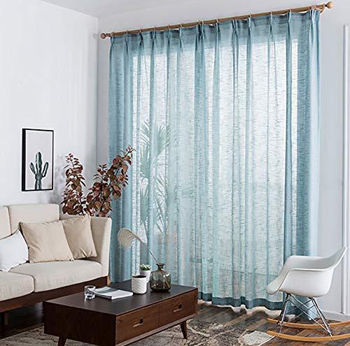 TINE HOME CURTAINS Dick Faux Leinen Jacquard Vorh/änge f/ür Wohnzimmer f/ür Schlafzimmer Fenster Moderne Vorh/änge nach Ma/ß 150x250cm gray 1pcx