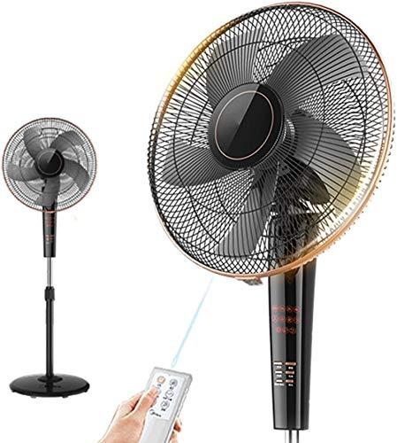 Haojie Ventilador eléctrico Ventilador de Piso Sala de Estar Control Remoto Control Vertical hogar Ventilador silencioso sincronización eléctrico Ventilador Grande Viento