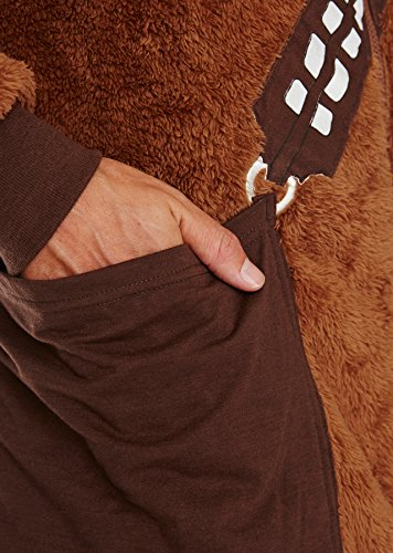 Star Wars Chewbacca Jumpsuit braun - 5