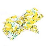 Amorar Baby Fruit Pattern Stirnbänder, elastische Schleife Knoten Haarknoten verknotet Turban für Neugeborene Kleinkind Kinder,EINWEG Verpackung