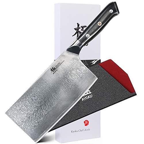 """KYOKU Daimyo Series - Vegetable Cleaver Knife 7"""" - Japanese..."""