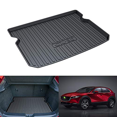 Mixsuper Cargo Liner Durable Odorless All Weather 3D Rear Behind 2nd Row Trunk Floor Mat for Mazda CX-30 2019 2020