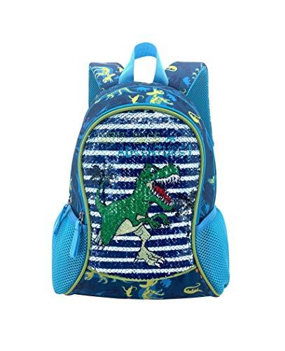 HAPPYSUNNY Toddler Backpack Reversible Sequin 13 Inch Lightweight for Preschool and Kindergarten Children, Kid Backpack, Mini School Bag Bookbag for 3-5 Years Boys and Girls…