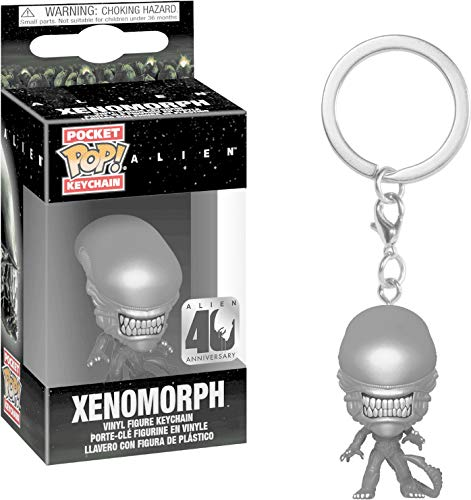 Funko- Pop Alien 40th Keychain Xenomorph, Multicolor (37752)