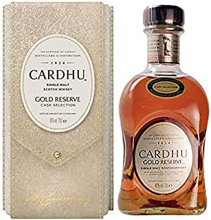 Cardhu Single Malt Whisky Gold Reserve Cask Selection Limited Edition mit Geschenkverpackung 1 x 0.7 l