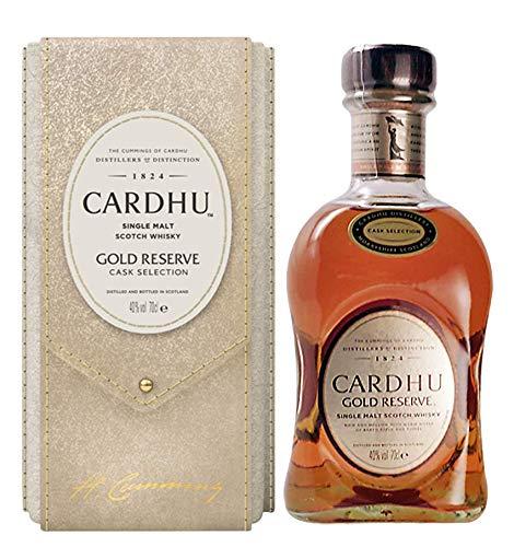 Cardhu Single Malt Whisky Gold Reserve Cask Selection Limited Edition mit Geschenkverpackung (1 x 0.7 l)