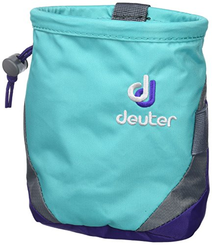 Deuter Gravity I M Chalk Bag, Mint-Violet, 15 x 11 x 11 cm