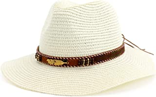 YbauShop Summer Sun Beach Straw Hat UPF 50 Foldable Wide Brim Fishing Hat with Outdoor Caps for Ladies Summer Beach Wide Brim Straw Visor Hat Summer, Outdoor,Travel,Hiking (Color : Silver)