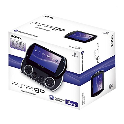 PlayStation Portable - PSP Go! Konsole, Piano black