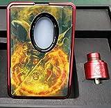 正規 Hcigar VT Inbox Squonk V3 Kit Vape スターターキット BF Mod 電子タバコ すたーたーキット (シルバー&ライトブラウン)