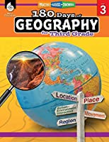 180 Days of Geography for Third Grade: Practice-Assess-Diagnose (180 Days of Practice)