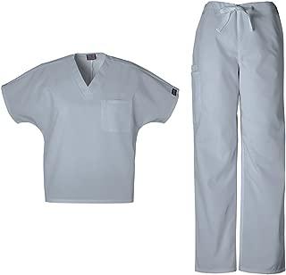 Workwear Originals Unisex Scrub Set - 4777 V-Neck Tunic & 4100 Drawstring Cargo Pant