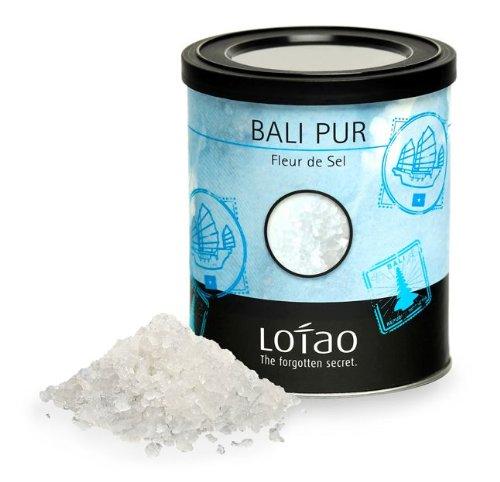 Lotao Bali Pur Salz - Fleur de Sel, natural, 1er Pack (1 x 150 g) - nachhaltig, vegan & hochwertig.