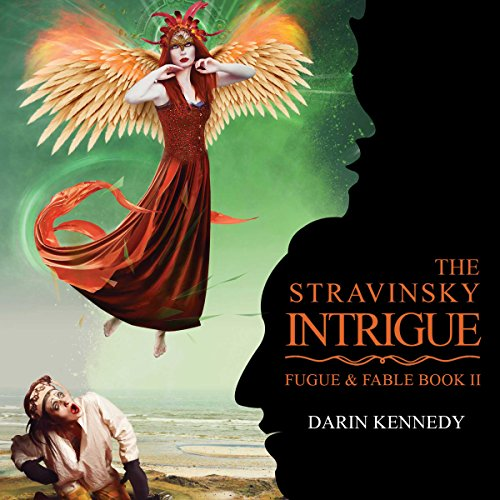 The Stravinsky Intrigue audiobook cover art