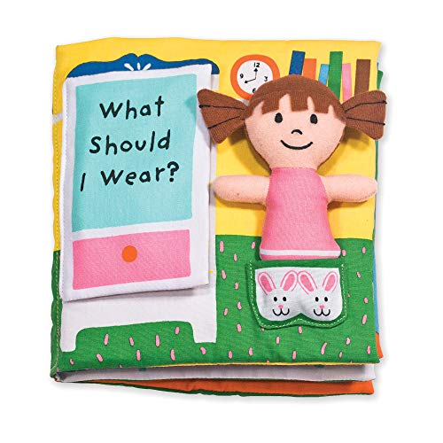 Melissa & Doug Soft Activity Baby Book - What Should I Wear?