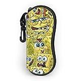 Astuccio Per Occhiali,Sponge-Bob Squarepants Viaggio Occhiali Da Custodia,Astuccio Per Occhiali Da Sole,Portatile Protettiva Custodia,Moda Custodia Per Occhiali