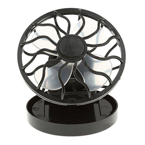 Ventilateur de Table Mini-clip Solaire Panneau d'énergie de Puissance