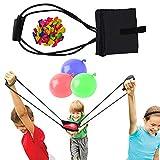 Water Balloon Launcher/Cannon/Slingshot/Potato Catapult - Waterballoon Baloons ballons Bulk Bunch Sling Shots Shot – TShirt Gun Summer Outdoor Water Ballon Bombs Toy & Games for Kids & Adults