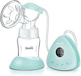 Useful Breast Pump Electrical Electric Breast Pump Portable Breast Feeding Pumps Single Milk Pump with Touch Screen Rechar...