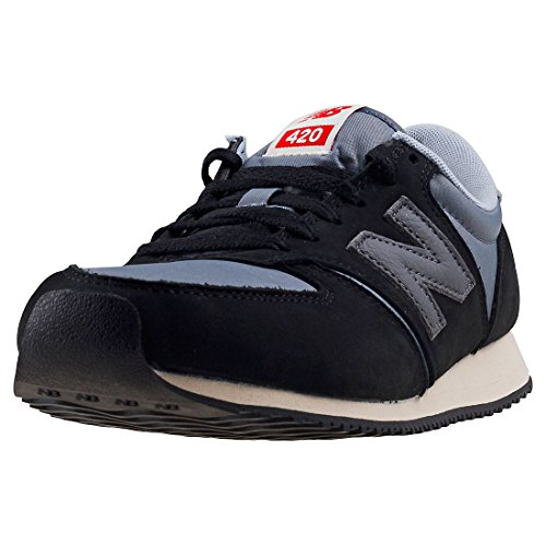 New Balance Unisex-Erwachsene U420-KBG-D Sneaker, schwarz, 40.5 EU