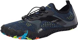 Naladoo Zapatos de verano para hombre de secado rápido para playa, natación, buceo, esnórquel, correr