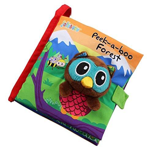 Schimer stoffen boek, baby speelgoed, training fijne motoriek toetsen, werk onderweg/bont baby-fotoalbum/album van stof