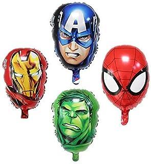 Party Propz Avenger Balloon Set of 4/Superhero Foil Balloon