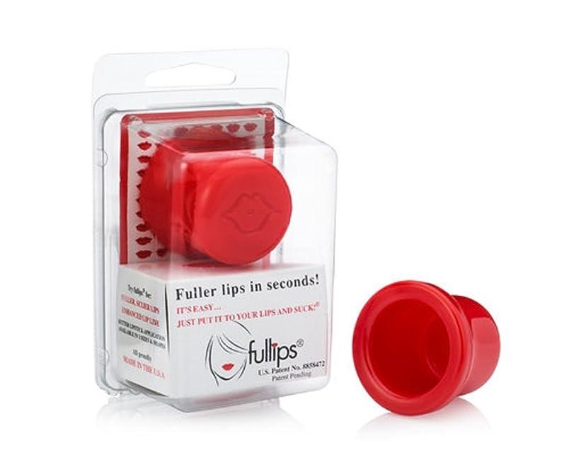シャツ柔らかい足ワックスFullips Lip enhancers フルリップス リップ エンハンサー (ラージ(丸形))