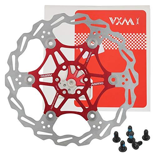 Mountain Bike Cycling Bremsscheibe Aluminum Alloy Bracket Fahrrad Bremsscheibe 160/180 / 203mm Rotor Hohlkonstruktion - robust und stabil Long Lasting (180mm)