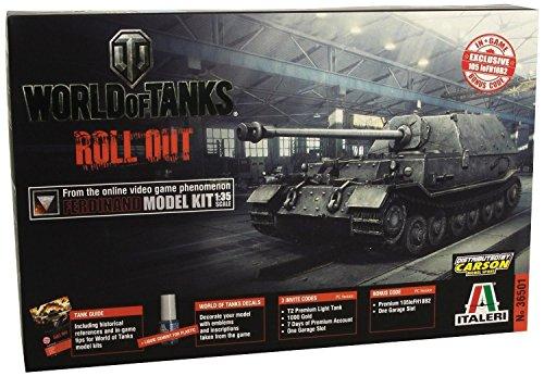 Italeri 37501 1/35 World of Tanks Ferdinand