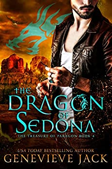 The Dragon of Sedona (The Treasure of Paragon Book 4) by [Genevieve Jack]