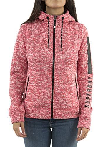 Superdry Damen Kapuzensweatjacke Storm Jacket rot (500) S